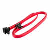 4world HDD Cable | SATA 3 | 90cm | right | red