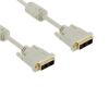 4world Monitor kábel  DVI-D (18 +1) - DVI-D (18 +1) M / M 3m  SL ferrite - Retai