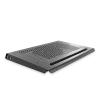4world Notebook  7\'\' - 10.2\'\' hűtő alátét  1 ventilátor  alumínium