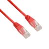 4world Patchcord RJ45  törésgátló nélkül  Cat. 5e UTP kábel  1.8m  piros -retail