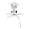 4world Projektor mennyezeti konzol dönthető/forgatható 15 5 cm  WHT