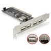 DELOCK PCI-Card USB 2.0 4+1 port
