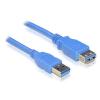 DELOCK Cable USB 3.0-A Extension male-female 2m