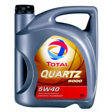 Total Quartz 9000 5L 5W40 motorolaj