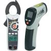 Jubileumi ajánlat: Voltcraft IR-260-8S infra hőmérő + AC/DC mini lakatfogó, VC-521