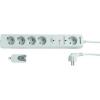 Conrad Conrad Power Strip H05VV Rádió jel vezérlésű, vezeték nélkül, távirányítóval kapcsolható hosszabbító, elosztó fehér színben