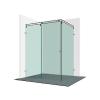 Varioglass Vendum V21-es tolóajtós zuhanykabin 160x90x200 cm