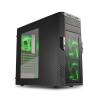 HÁZ SHARKOON T28 Fekete-Zöld