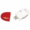 LogiLink Smile USB 2.0 Multi kártyaolvasó piros