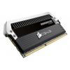 Corsair (CMD8GX3M2A1600C9) 8GB Kit (2x4GB) DDR3, 1600MHz, 9-9-9-24 DOMINATOR Platinum - 1.5V