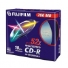 Fuji Film CD-R 700MB 52x SLIM/vékony  tokos, 10db