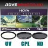 Digital Filter Kit UV,CPL,ND 52mm szűrőkkel