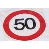 50. szülinapi tortaostya