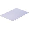 Modelcraft polisztirol lemez 330 x 230 x 1 mm, fehér