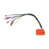 AIV Adapter 4 x RCA Mini ISO