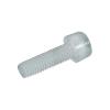 Toolcraft belső kulcsnyílású csavar M6 x 20 mm, 10 db, műanyag, DIN 912