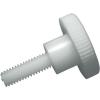 Toolcraft Toolocraft kézi szorítású poliamid csavar, M4 x 20 mm, DIN 465, 10 db
