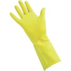CleanGo Háztartási kesztyű, sárga, méret: 9