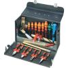 Knipex Szerszámkoffer elektromos kézi munkákhoz, 24 részes