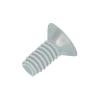 Toolcraft Lencsefejű süllyesztettfejű csavar, kereszthornyos DIN 966 poliamid, M4X20 (10), Liseko