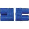 Modelcraft Aranyozott érintkező,  3,5MM dugó/hüvely kék