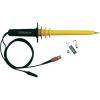 Testec HVP-15HF 15KV/DC 10KV/AC-ig szigetelt 50MHz-ig használható 200cm hosszú 1000:1 osztású BNC csatlakozójú oszcilloszkópokhoz illeszthető nagyfeszültségű mérőfej
