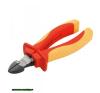 oldalcsípő fogó, 160mm, szigetelt, 1000V, VDE, DIN ISO 5749, CV, duál piros/sárga nyél, akasztós szerszámtartó fogó