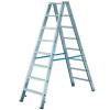 KRAUSE STABILO két oldalon járható lépcsőfokos állólétra  2x5 fokos (kék) (801456)   124739