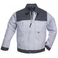 MV CLASS fehér-szürke kabát (MÉRETEK: S-XXXL (40-62)