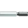 Adapter, 6,3 mm (1/4)-ről 4 mm (5/32)-re Kulcstávolság 6,3 mm Meghajtás (szerszám) 6,3 mm (1/4)