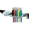 SKS HIRSCHMANN LMLH PMS 4 60V/DC-ig használható 1000mm hosszú 4mm-es banándugós mérőkábel készlet, mérőzsinór készlet, műszerzsinór szett