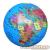Brainstorm Felfújható Földgömb 30 cm átmérõ