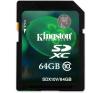 Kingston SDXC 64GB Class 10 memóriakártya