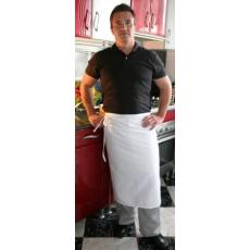 Fehér szakácskötény