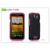 CASE-MATE HTC One X/XL hátlap - Case-Mate Tough - pink