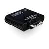 DELOCK USB OTG Kártyaolvasó Samsung Tablethez (65358)  Kártyaolvasó
