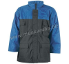 Coverguard CONNEMARA sötét-/királykék vízhatlan kabát, poliészter bélés munkaruha
