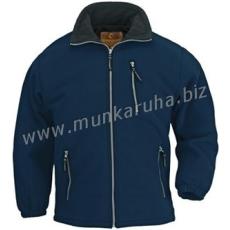 Coverguard ANGARA kék cipzáros pulóver, vastag 450 g/m2-es mikropolár