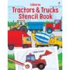 Trucks and Tractors Stencil Book