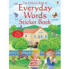 The Usborne Everyday Words Sticker Book