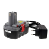 Powery Utángyártott akku Bosch típus 2607335536 O-Pack Li-Ion + töltő