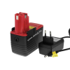 Powery Utángyártott akku Bosch típus 2607335252 Li-Ion + töltő