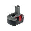 Powery Utángyártott akku Bosch típus 2607335521 NiMH 3000mAh O-Pack  japán cellás