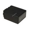 Powery Utángyártott akku videokamera Panasonic HDC-SD3 4800mAh