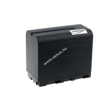 Powery Utángyártott akku videokamera Sony CCD-RV100 6600mAh fekete sony videókamera akkumulátor