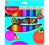 MAPED Color`Peps színes ceruza készlet, 24 különböző szín színes ceruza