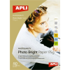 APLI Fotópapír, tintasugaras, A3, 200 g, fényes, APLI