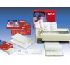 APLI Etikett, mátrixnyomtatókhoz, 2 pályás, 134,6x99,4 mm, APLI, 3000 etikett/csomag etikett