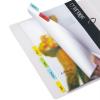 Jelölőcímke, műanyag, függőmappához, 10x150 mm, 3L, vegyes