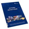 VICTORIA Konferencia jegyzettömb, A4, 30 lap, vonalas, VICTORIA